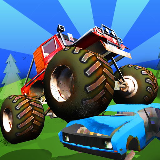 Baby Monster Truck Hot Racing Icon