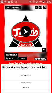 Jarvis Radio Player- screenshot thumbnail