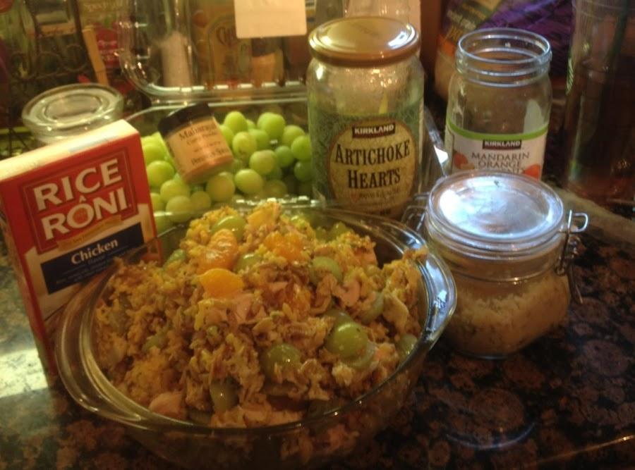Rice a roni chicken salad recipes