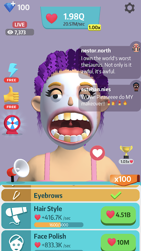 Idle Makeover screenshot 3