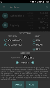 SmarterNoise – video sound meter recorder camera App Download For Android 6