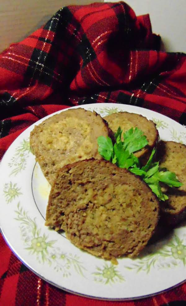 Tasty Stuffed Meatloaf