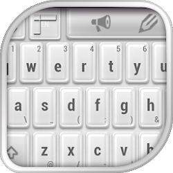 Keyboard White HD