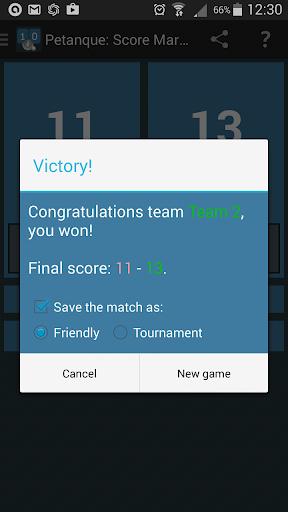 Petanque: Score Marker 5.4 screenshots 2