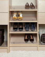 Photo: Closet detail: shoe storage