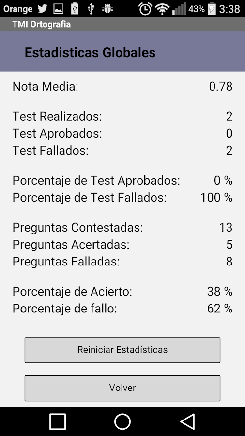 Ortografía Test Me In- screenshot