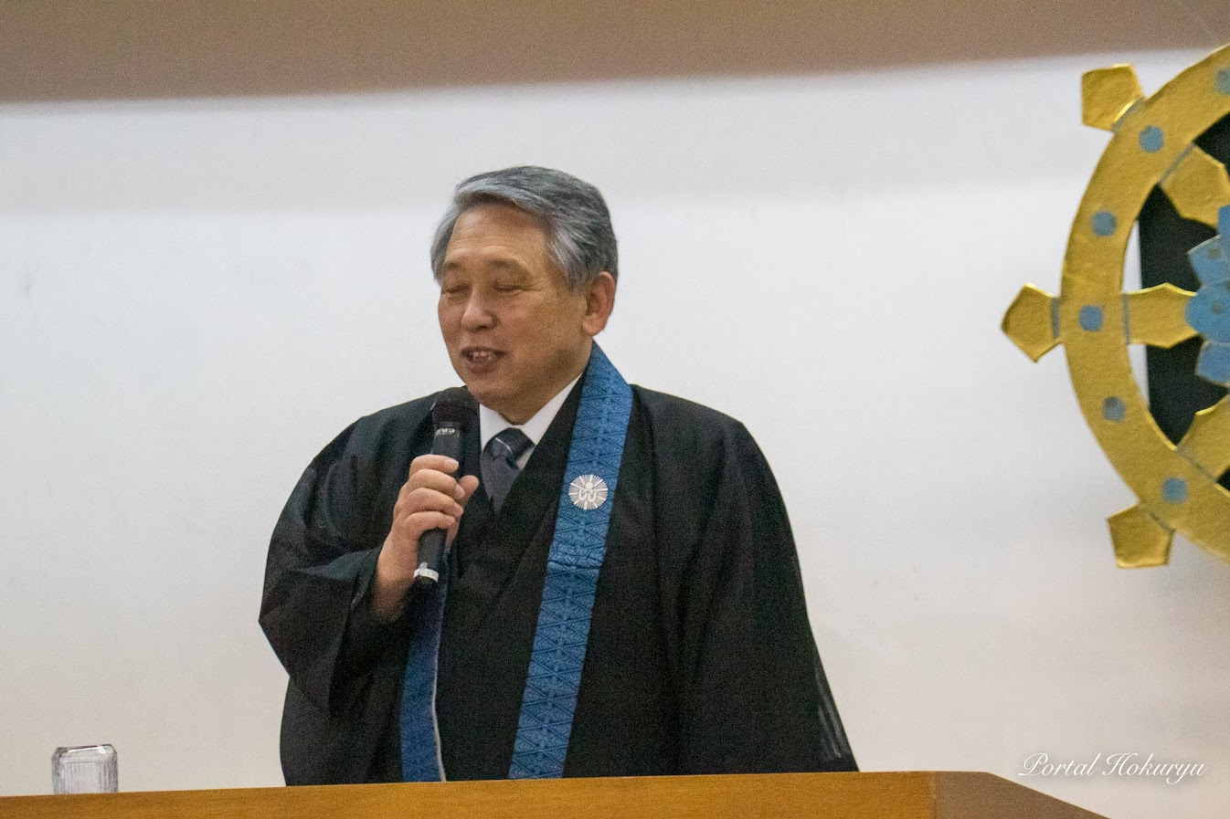 公開講座実行委員会・垣原典章 委員(清雲寺 住職)