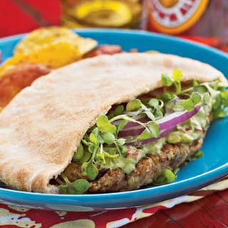 Falafel with Avocado Spread