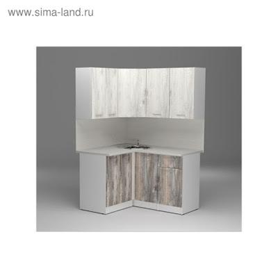 Кухонный гарнитур Инна прайм, 1200 х 1400 мм