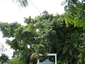 Photo: The entrance to the Key West lighthouse