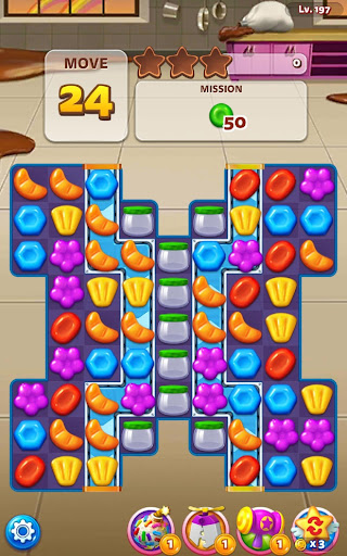 Sweet Road: Cookie Rescue Free Match 3 Puzzle Game  screenshots 3