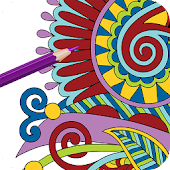 Coloring-Adult Recoloring Book