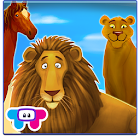 Animals Zoo - Interactive Game icon
