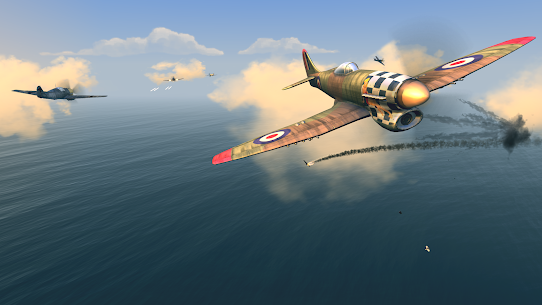 Warplanes: WW2 Dogfight v2.1 (Mod) 4