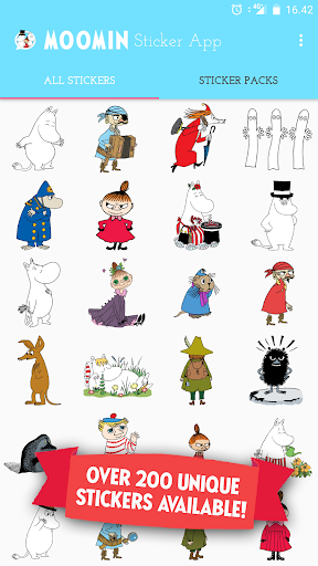 Screenshot for Moomin Sticker App in Hong Kong Play Store