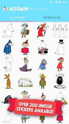 Moomin Sticker Appのおすすめ画像3