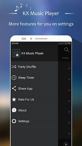android KX Music Player + Screenshot 4