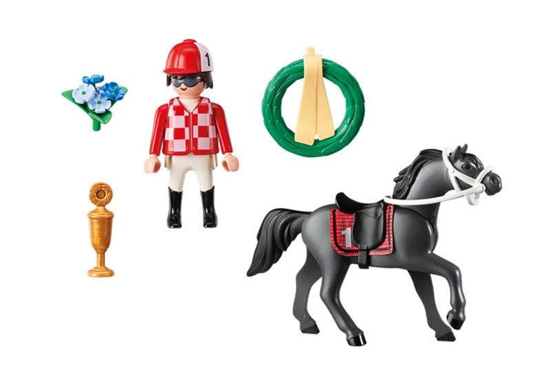 Contenido real de Playmobil® 9261 Jockey