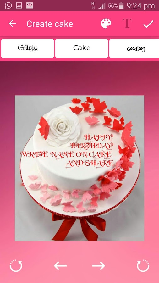 Cake with Name wishes Android Apps on Google Play