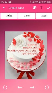 Cake with Name wishes - Write Name On Cake - náhled
