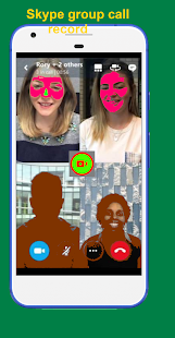 Video call recorder - record video call with audio Screenshot