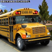 Modern City School Bus Driver Test: Learn To Drive