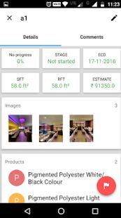 Colourcoats Business App - náhled