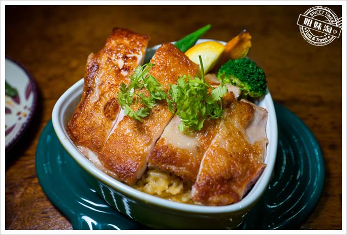 卡亞馬爾起司奶油嫩雞燉飯