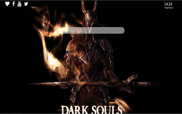 Dark Souls Wallpaper New Tab Background