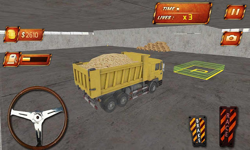 Construction Site Truck Sim
