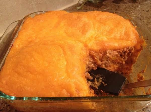 Cheesy Hamburger-crescent Casserole