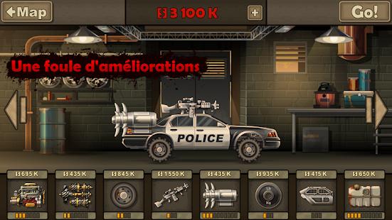 jeux de voiture qui ecrase les zombie