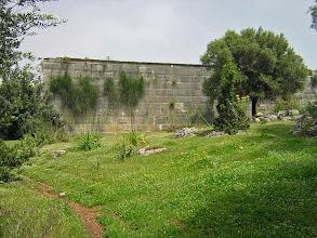 Photo: Andriake, side view of the Granary .......... Zijaanblik van de Graanopslagruimte.