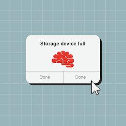 Storage Device Full - Facebook Carousel Ad item