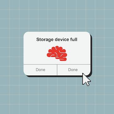 Storage Device Full - Instagram Post template