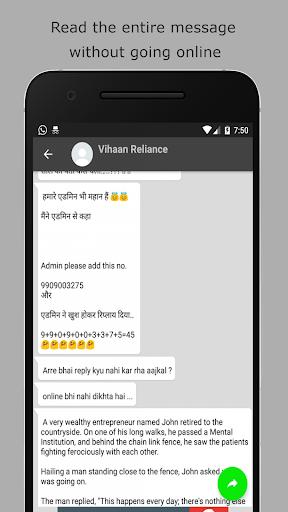 Last seen online hider for whatsapp 2.5 screenshots 2