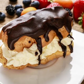 Dominic's Creamy Chocolate Eclairs In The Airfryer