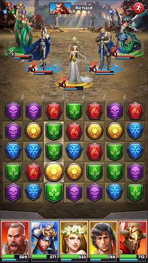 MythWars & Puzzles: RPG Match 3 screenshots 8