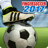 Finger soccer : Football kick