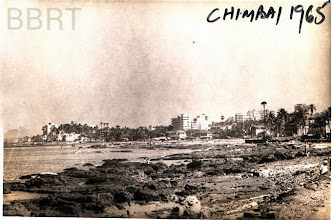 Photo: 1965 - Chimbai Village seen from BJ Road