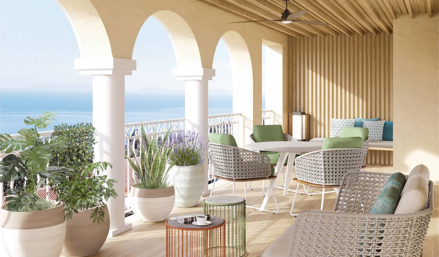 Apartment with terrace and pool Rayol-Canadel-sur-Mer