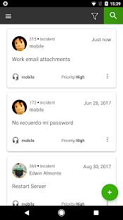 SysAid Helpdesk - náhled