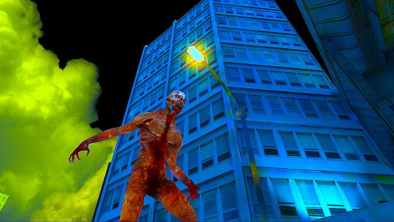 Скриншот зомби забастовка война - охота