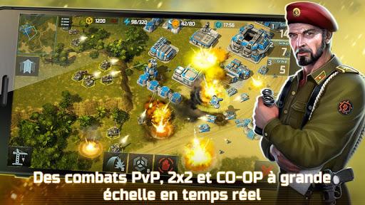Art of War 3:PvP RTS Jeu Stratégique en Temps Réel  captures d'écran 6