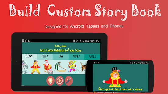 Kids Story Books Maker Free- screenshot thumbnail