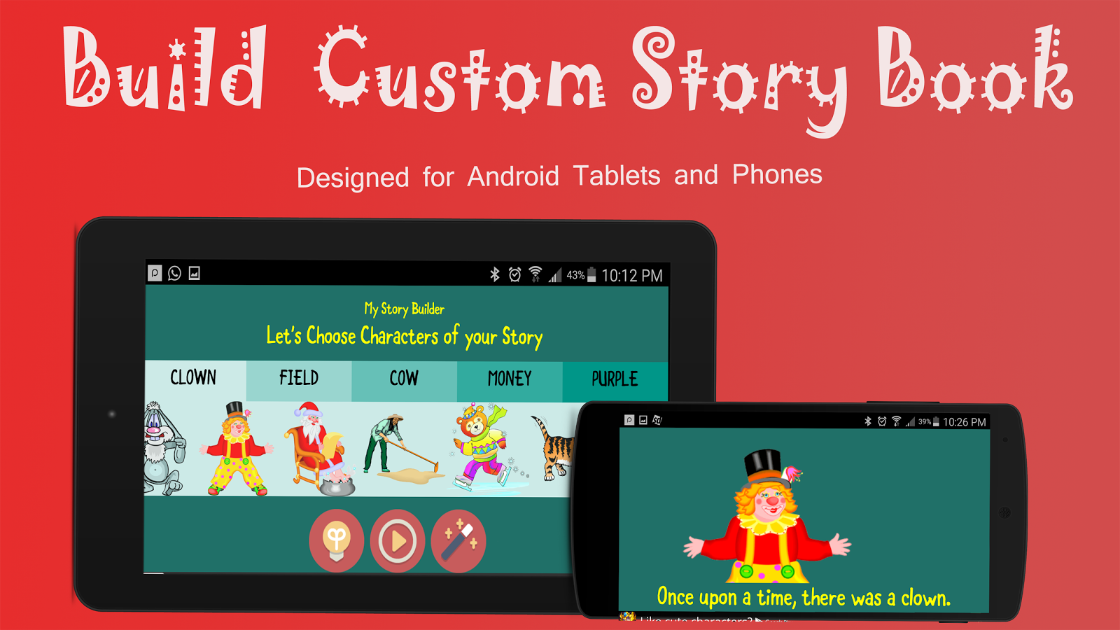 Kids Story Books Maker Free- screenshot