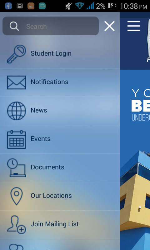 UCC Mobile- screenshot