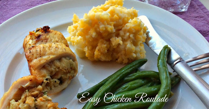 Easy Chicken Roulade Recipe