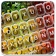 Colorful Water Keyboard Theme