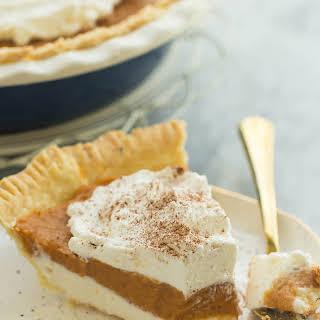 Cream Cheese Pumpkin Pie.